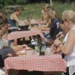 Jordbær picnic - roskkedyssegaard
