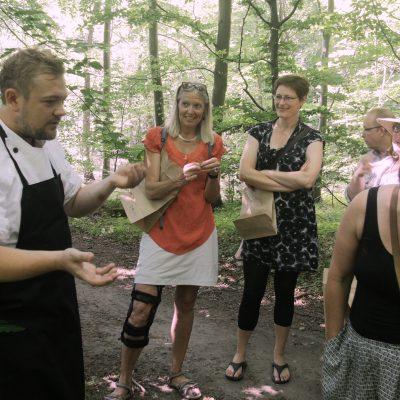 Urteskovtur med kok fra Bryggeri Skovlyst