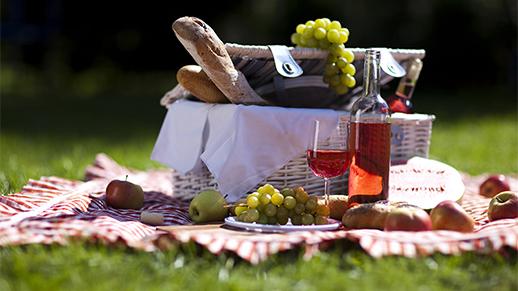 picnic kurv