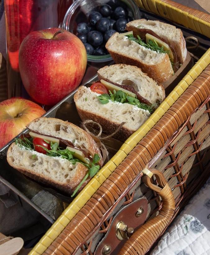 Sandwich med bresaola